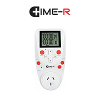 TIME-R ELECTRICAL DIGITAL TIMER SECONDS 15 TIME DAY PROGRAMMABLE COUNTDOWN