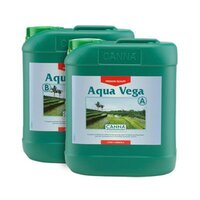 CANNA AQUA VEGA A&B 2X5L HYDROPONIC GROW GROWING NUTRIENTS