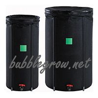 AQUA WATER TANK 100L FLEXIBLE WATER TANK RESERVE BARREL HYDROPONICS