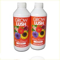 GROWLUSH HYDROPONICS COCO BLOOM FLOWER PART A&B 1L NUTRIENT