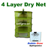 HANGING DRYING RACK 600MM X 4 NET TIER HERB DETACHABLE HYDROPONICS DRY DRYER