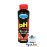 PH DOWN 250ML HY-GEN PH ADJUSTMENT MOVE NON TOXIC HYGEN GUARANTEE