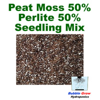 PEAT MOSS 50% PERLITE 50% FINE SEED RAISING MIX 2L-20L BAG PLANT GROWING MEDIUM