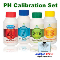 CALIBRATION SET - PH BUFFER 7 PH BUFFER 4 ELECTRODE STORAGE 2.7 COND 250ML HYGEN