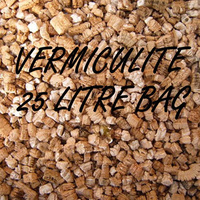 VERMICULITE 25 LITRE BAG OF GRADE 3 HYDROPONIC GROWING MEDIUM 25L