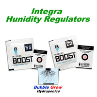 5 X INTEGRA BOOST 55% 62% HUMIDITY REGULATORS 2 WAY CONTROL CURE HERBS FLOWERS