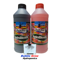 DUTCHFEST HYDRO BLOOM A&B 1L FLOWERING NUTRIENTS HYDROPONICS DUTCH FEST