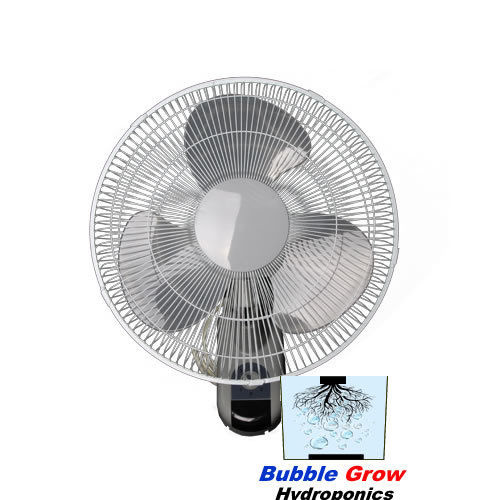 "410MM/16"" WALL FAN MOUNT HYDROPONICS POWER SAVING CIRCULATE AIR COOLING"