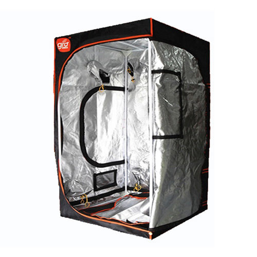 GROW TENT 1.2X1.2X2M GroCELL MYLAR REFLECTIVE INDOOR HYDROPONIC ROOM 120x120x200